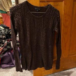 Plum colored sweater